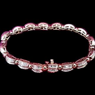 Fabulous 6.75 tcw Ladies Diamond Bracelet