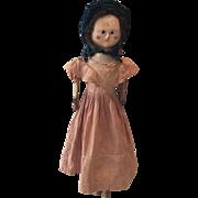 Large Original Queen Anne Doll (1790-1800)