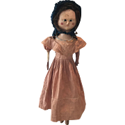 Large Original Queen Anne Doll (1790-1800)