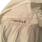 Regency Childs Percale dress with Provenience Fam. Gladstone, Scotland