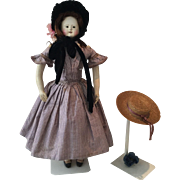 French Papiermache Museums Doll Andreas Voit