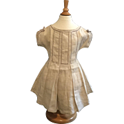 Antique Dress for a Little Girl or a large Doll from 1860