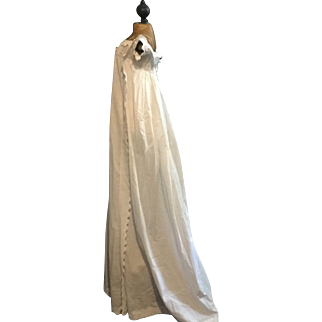 Antique English Regency childrens gown 1810