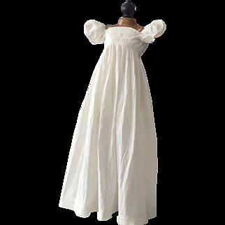 Antique Regency little  Girls Dress ca. 1820