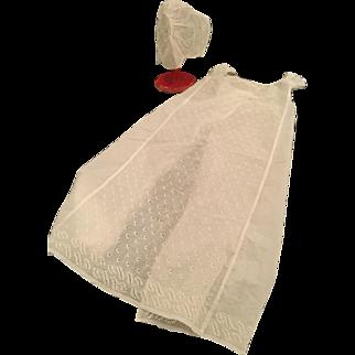 Early Regency Baby Gown ca. 1810