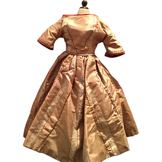 Early Antique Doll Dress 19th century