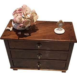 Antique French Miniature Commode 19th Century