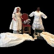 Antique English Pure Wax Doll 19th century