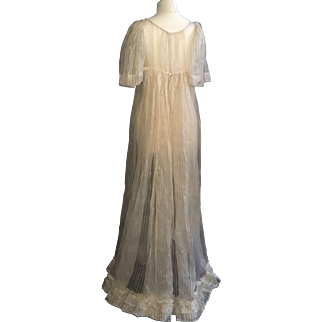 Antique Regency Dress ca. 1810