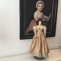 Antique dolls and dresses