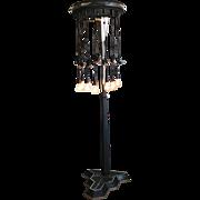 Art Deco Permanent Wave Floor Lamp