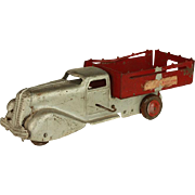 Vintage Metalcraft Pressed Steel Dump Truck