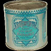 Vintage Edgeworth Tobacco Tin. Unopened.