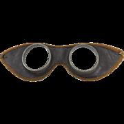 Vintage Motorcycle Goggles c. 1930