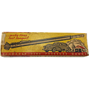 Vintage Tire Pressure Gauge in Original Box