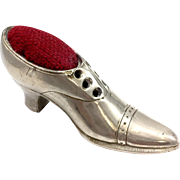 Figural Pin Cushion Shoe