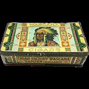Wascana Cigar Tin c. 1920's