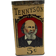 Vintage Tennyson Cigar Tin C. 1926