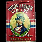Union Leader Redi Cut Uncle Sam Five Colour Pocket Tobacco Tin