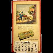 Wrigley's 1927 Calendar and Coupon Book