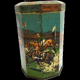 Lyons' Tea Tin - The Grand National Drink