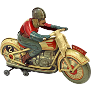 Technofix GE255 Tin Wind Up Toy Motorcycle