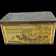 Thomas J. Lipton Tea Tin
