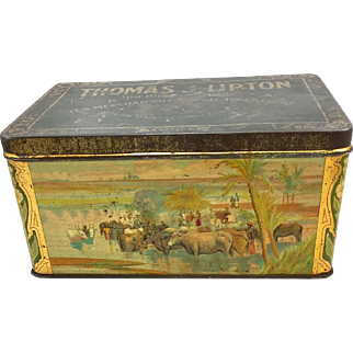 Thomas J. Lipton Tea Tin