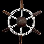 Chris Craft Cabin Helm Ship Steering Wheel