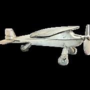 Folk Art Weathervane Plane
