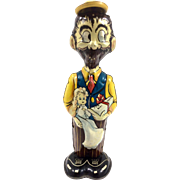 B O Plenty c.1940 Louis Marx Vintage Windup Toy