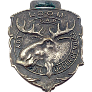 Loyal Order Of Moose Watch Fob
