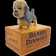 Rare Dandie Dinmont Terrier Bar Advertising