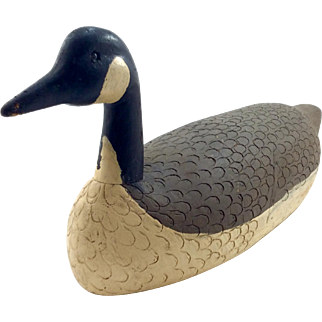 Folk Art Goose Decoy
