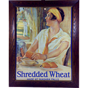 Vintage Shredded Wheat Advertisement