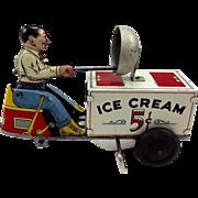 1950's Courtland Tin Ice Cream Scooter