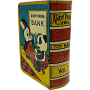 1940's Andy Panda Series Tin Book Bank Vol. 2