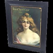 Royal Sport Cigar Print c.1904