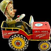 G.I. Joe Jouncing Jeep c. 1944