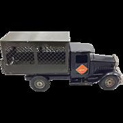 Metalcraft Corp. Black Railway Express Truck c.1930's