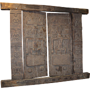 Antique Hand-Carved Timorese Fertility Doors