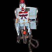 Vintage Tybee Island Theme Park Clown Cart Kiddie Ride, Restored with Documentation