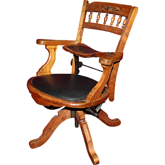 Unusual Mid 19th Century Eastlake Traveling Barber's Chair