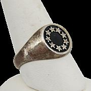 Sterling Silver Vintage Signet Ring