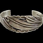 Sterling Silver Vintage Cuff Bracelet
