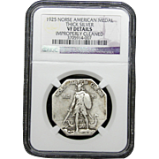 NGC Certified Norse American Medal (1925)