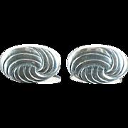 835 Silver Vintage Cufflinks