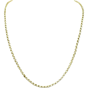 Circa 1980 2MM 14KT yellow gold Rolo chain.