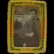 Vintage Micro mosaic photo frame