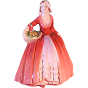 "Royal Doulton  HN1537 ""Janet""  Retired"